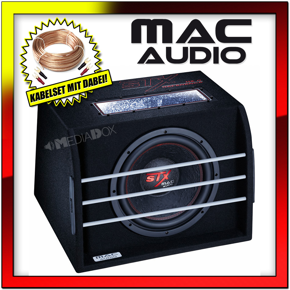 Mac audio stx 112 r reference 30cm bass reflex subwoofer chassis cavo set ebay - Er finestra mac ...