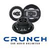 CRUNCH Auto Heck Lautsprecher/Boxen für NISSAN Navara D40 - 05-15