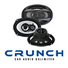 "CRUNCH Auto 3-Wege Triax Lautsprecher/Boxen GTi 693 - 16x23cm/6x9"" (GTi693)"