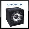 CRUNCH CRB-250 25cm Auto Bassreflex Gehäuse Subwoofer 500 Watt MAX (CRB-250)