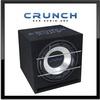 CRUNCH CRB-350 30cm Auto Bassreflex Gehäuse Subwoofer 700 Watt MAX (CRB-350)