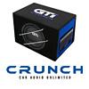 CRUNCH GTi800A - 20cm Auto Aktiv Gehäuse Subwoofer/Basskiste/Boombox - 400W