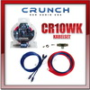 CRUNCH CR10WK 10 mm² Kabelset-Verstärker Kabel-SET (CR10WK)