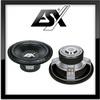ESX 30cm Subwoofer Chassi / Woofer / Lautsprecher 1000 Watt MAX (SX-1240)