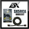 ESX SX5RCA Cinch-Kabel CinchKabel-SET (SX5RCA)