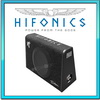HIFONICS Triton 25cm Auto Gehäuse Flach/Slim-Line Subwoofer 600W (TRS-250)