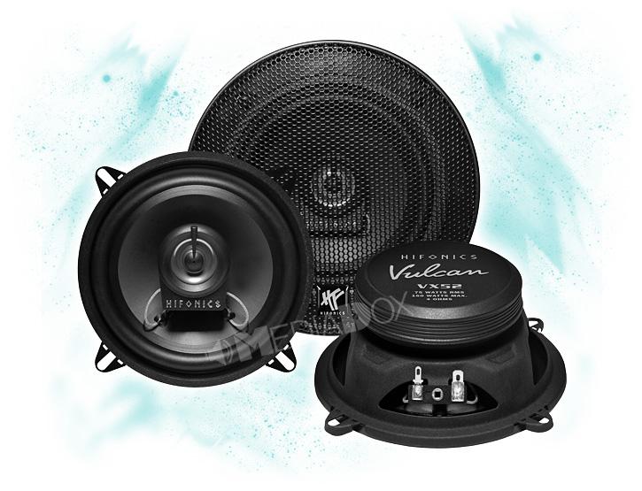 HIFONICS 13cm Koax Heck Lautsprecher-Set für MERCEDES C-Klasse W203-00-07