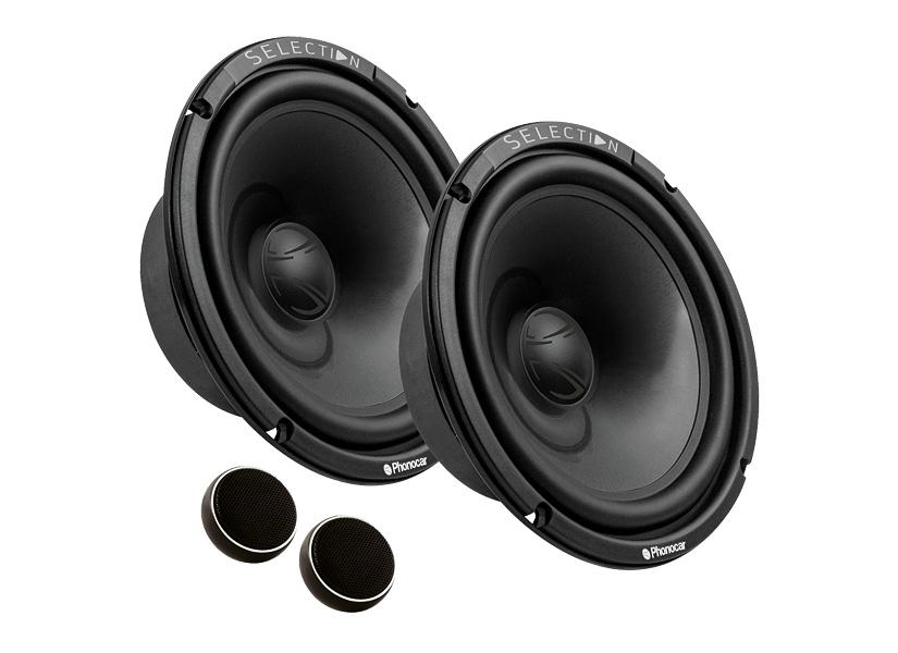 Ground Zero Front//Heck 16,5cm//165mm Auto Lautsprecher//Boxen//Speaker Komplett-Set kompatibel f/ür Mitsubishi