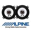 ALPINE Auto 13cm 2-Wege Koax Lautsprecher / Boxen - 200 Watt (SXE-1325s)
