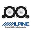 ALPINE 13cm 2-Wege Auto Lautsprecher / Boxen Kompo SXE-1350s - 250W (SXE-1350s)
