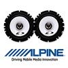 ALPINE Auto 2-Wege Koax Lautsprecher/Boxen SXE-1725s - 165mm/16,5cm (SXE-1725s)