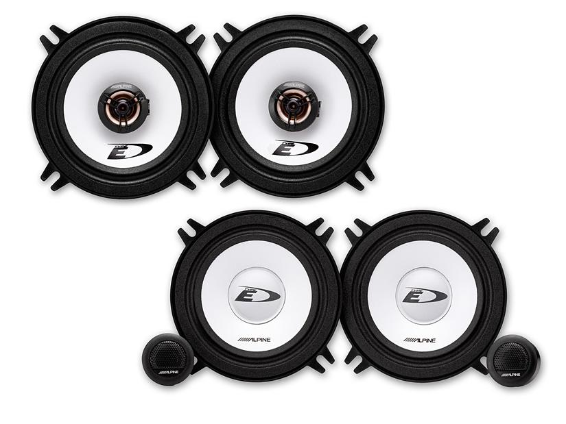Alpine SXE-1325s Front//Heck 13cm//130mm 2-Wege Koax Auto Lautsprecher//Boxen//Speaker f/ür BMW