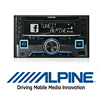 ALPINE CDE-W296BT CD/BLUETOOTH/USB - 2-DIN Radio Autoradio/Radio