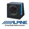 ALPINE SBG-1044BR - 25cm Auto Subwoofer/Basskiste/Bassbox - 500W (SBG-1044BR)