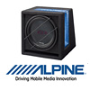 ALPINE SBG-1224BR - 30cm Auto Subwoofer/Basskiste/Bassbox - 800W (SBG-1224BR) 2Ω