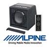 ALPINE SWE-815 - 20cm Auto Aktiv Gehäuse Bassrelfex Subwoofer - 300 W