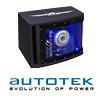 AUTOTEK A200BPA - 20cm Auto Aktiv Gehäuse Subwoofer - 200 Watt MAX