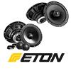 ETON Front/Heck Auto Lautsprecher/Boxen Komplett-SET für OPEL