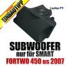 I-SOTEC Fahrzeugspezifischer Subwoofer für SMART ForTwo Typ 450 - 1998-2007