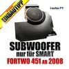 I-SOTEC Fahrzeugspezifischer Subwoofer für SMART ForTwo Typ 451 - 2007-2014