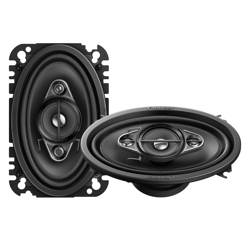 pioneer heck oval auto lautsprecher boxen f r vw polo 2. Black Bedroom Furniture Sets. Home Design Ideas