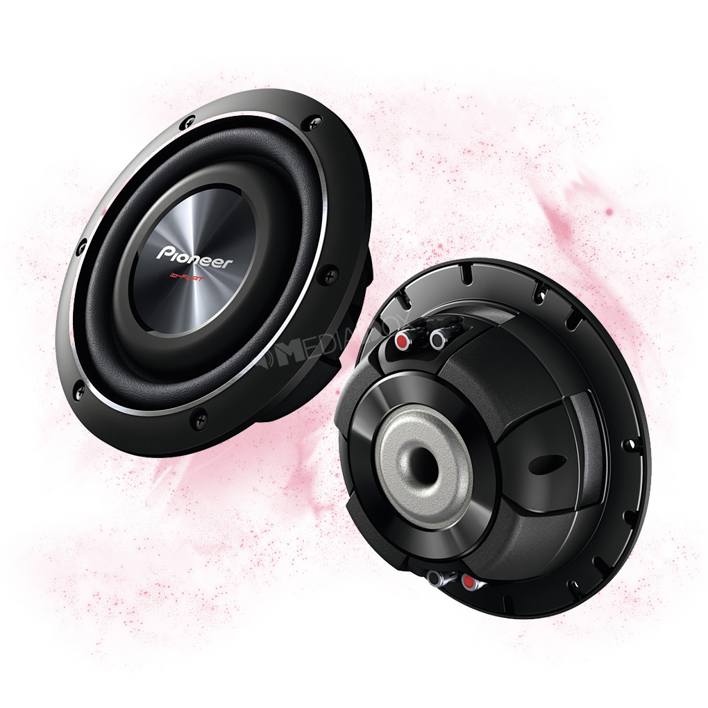 pioneer ts sw2002d2 20cm flach subwoofer chassis. Black Bedroom Furniture Sets. Home Design Ideas