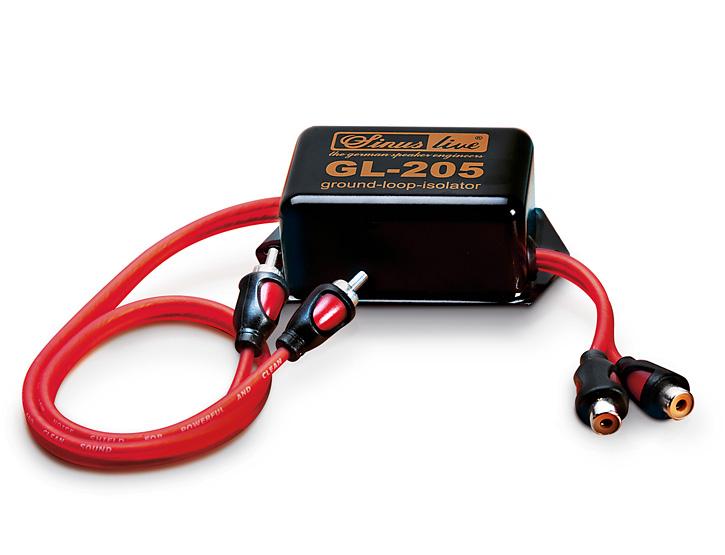 SINUSLIVE Auto Entstörfilter//Entstörer GL-205 Ground-Loop-Isolator Carhifi