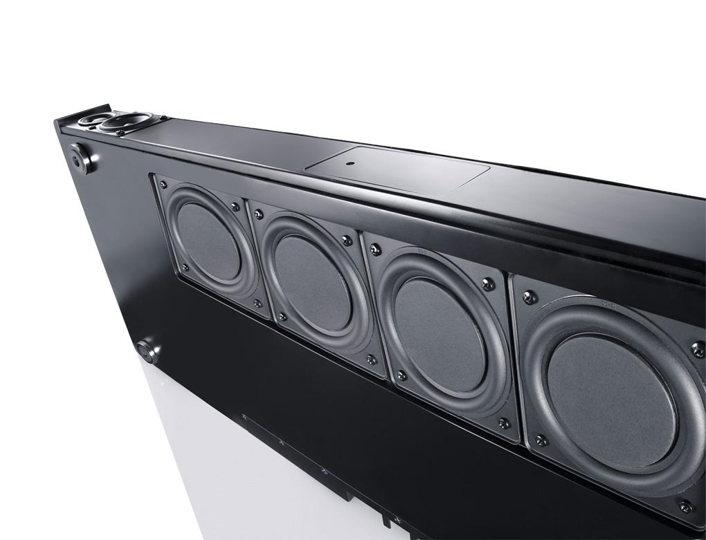 CANTON 2.1 Virtual TV Surround System/Sound Bar/Heimkino - Schwarz ...