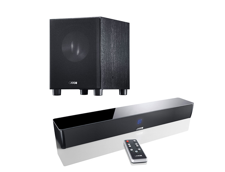 CANTON DM5 Soundbar + SUB 10.3 Subwoofer - TV Surround System/Heimkino/Sound