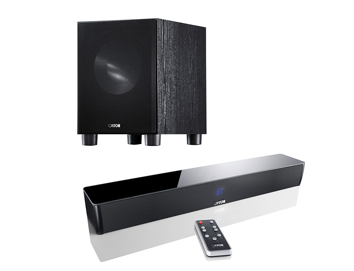 CANTON DM5 Soundbar + SUB 8.3 Subwoofer - TV Surround System/Heimkino/Sound