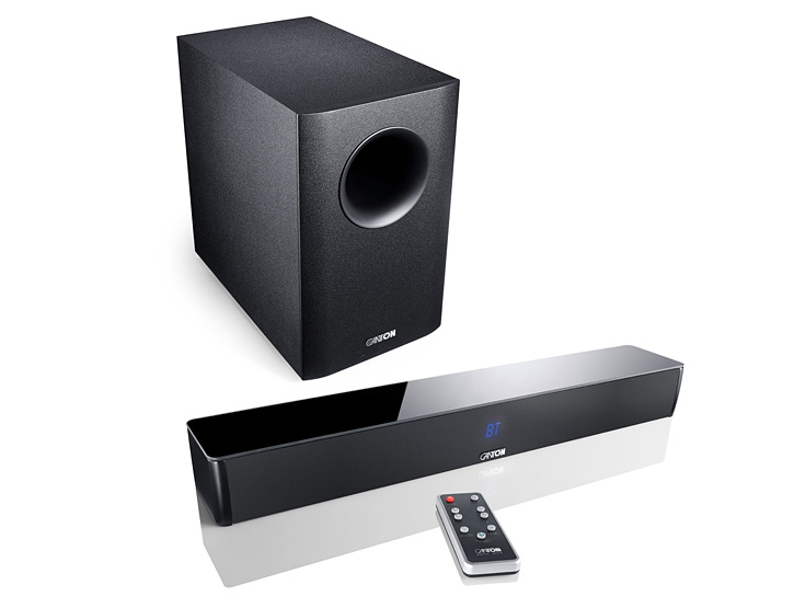 CANTON DM5 Soundbar + AS-2020-SC Subwoofer - TV Surround System/Heimkino/Sound