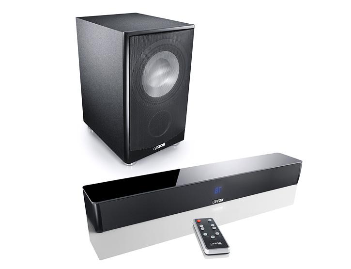 CANTON DM5 Soundbar + AS-85.3-SC Subwoofer - TV Surround System/Heimkino/Sound
