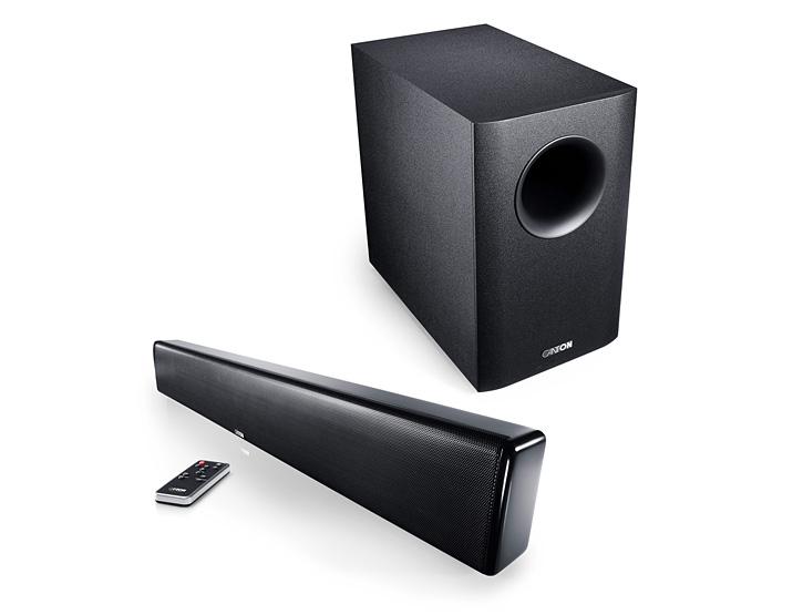 CANTON DM9 Soundbar + AS-2020-SC Subwoofer - TV Surround System/Heimkino/Sound