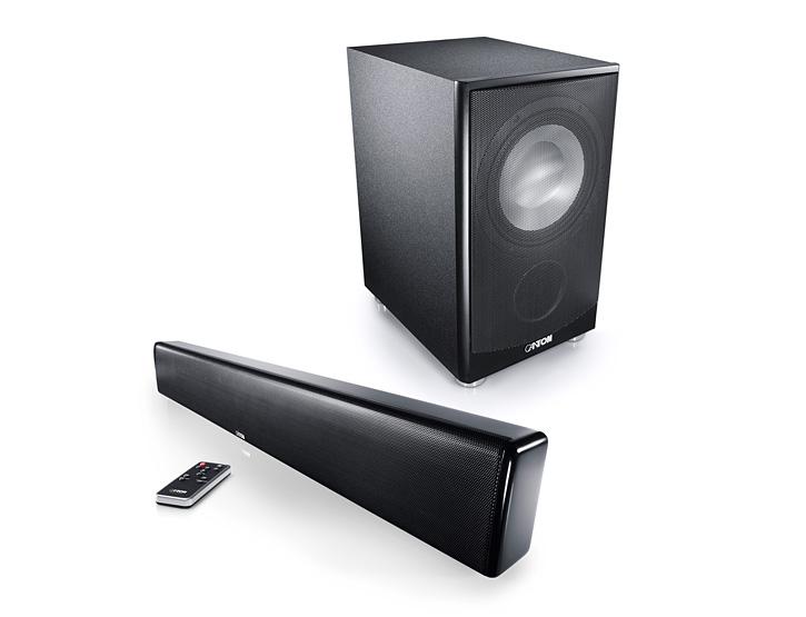 CANTON DM9 Soundbar + AS-85.3-SC Subwoofer - TV Surround System/Heimkino/Sound